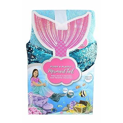 "Jay Franco & Sons Plush & Playful 55-Inch Tail Blanket (Ocean Blue Mermaid, 55\""): Home & Kitchen [5Bkhe1105994]"