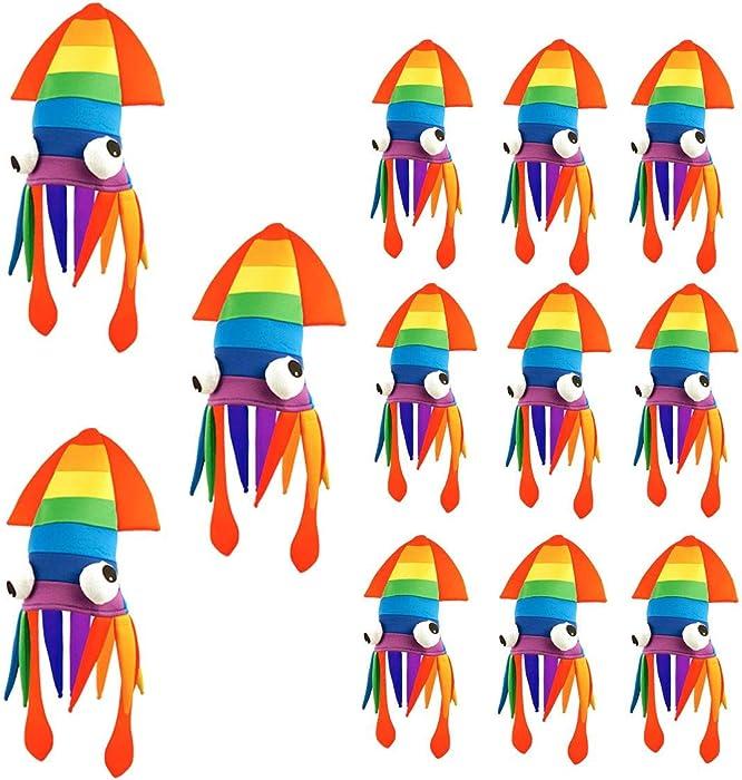 Hi Fashionz Adultos Orgullo Gay Carnaval Arco Iris Calamar ...