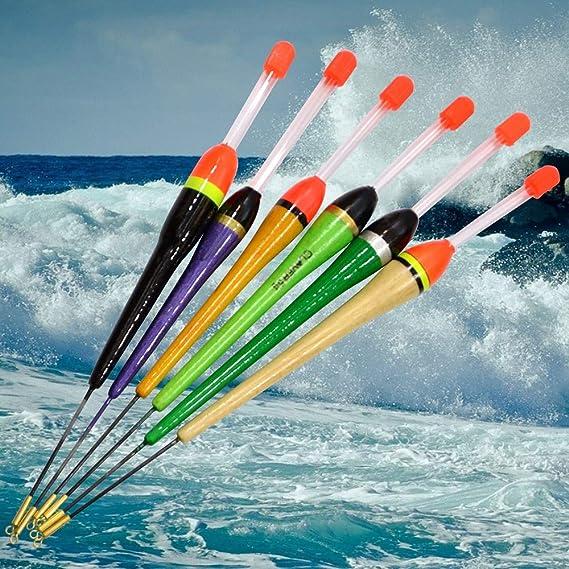 Amazon.com : CUSHY Fish King Fishing Float Flotador 1pc 3g-6g 19.5cm-22.5cm Dobbers Voor Vissen for Carp Fishing Accessories Flotteur De Peche: ...