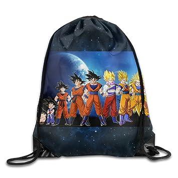 Dragon Ball Z Goku saco bolsa cordón mochila Bolsa de ...