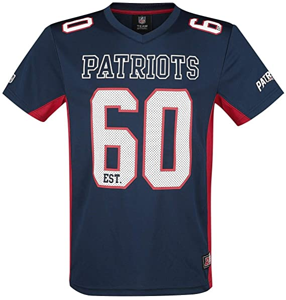 99630a119e NFL New England Patriots Camiseta Azul Marino XL  Amazon.es  Ropa y  accesorios