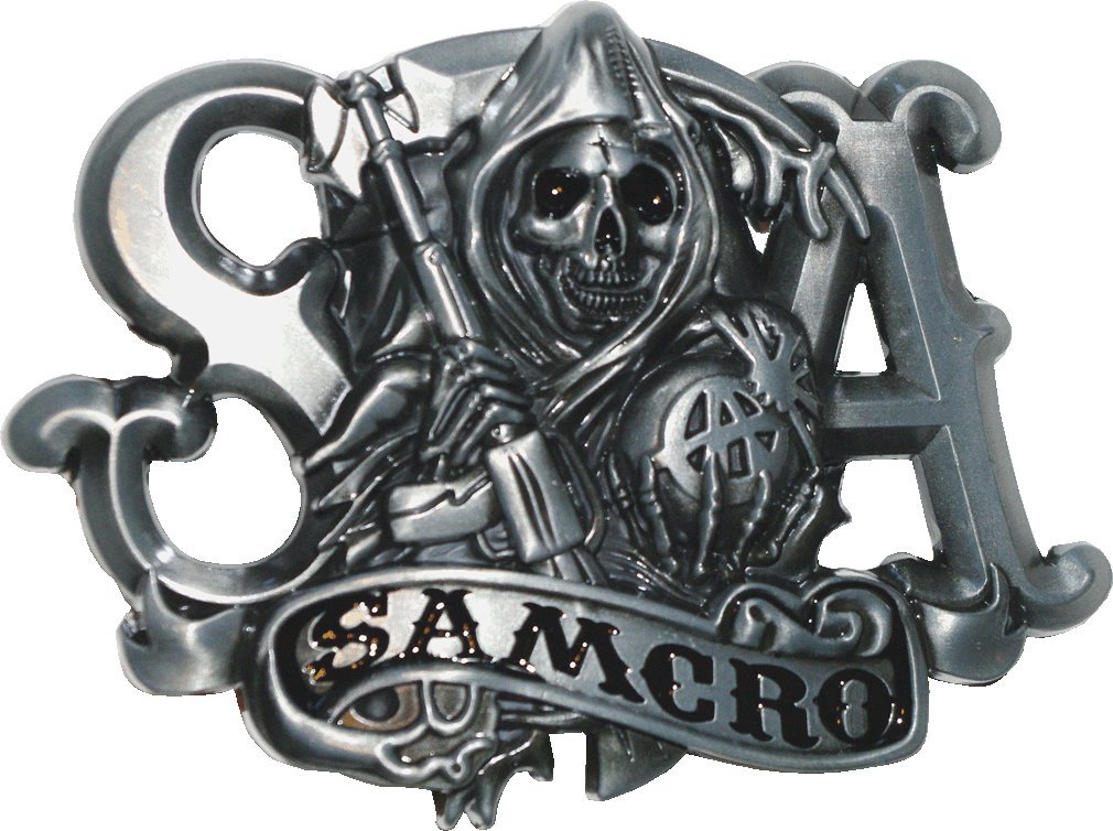 SAMCRO Sons Of Anarchy Belt Buckle by UCS 1008414