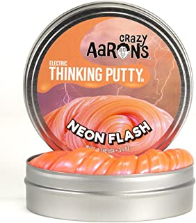 product image for Crazy Aaron's Thinking Putty Small Tins (5Cm) Selection (Neon Flash)