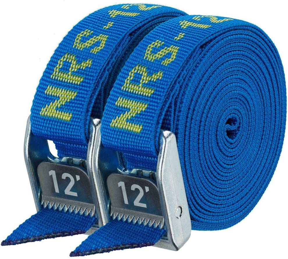 "NRS 1"" Heavy Duty Tie Down Strap 2 Pack"