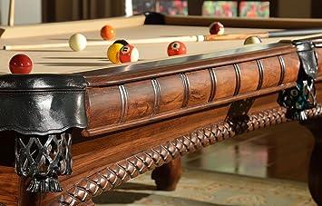 Mesa de billar Arizona – 8 pies – Mesa de billar de lujo. Una proeza en aspecto clásico nostálgico envejecido. Manitou Luxus Pool - Mesas de billar.: Amazon.es: Deportes y aire libre