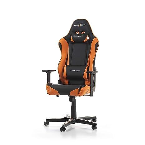 DXRacer Racing R0-NO - Silla (Negro, Naranja, Negro, Naranja,