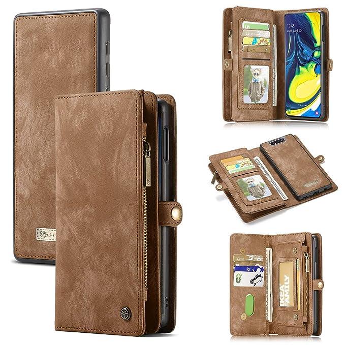 Casewin Funda para Samsung Galaxy A80, Carcasa Slim Folio ...