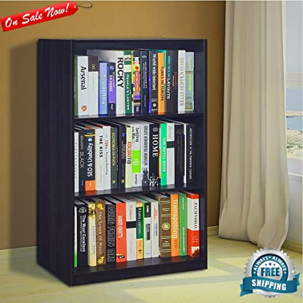 Incredible Amazon Com Small Bookcase Vertical 3 Open Storage Shelves Download Free Architecture Designs Scobabritishbridgeorg