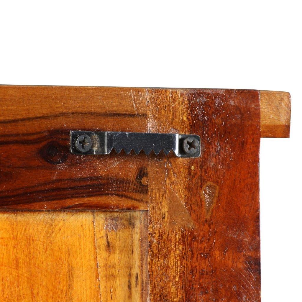 vidaXL Percheros 2 unidades madera maciza reciclada 38x100 ...