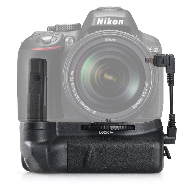 Empuñadura de batería BG-2G para Nikon D5100 D5200 D5300 Cámara ...