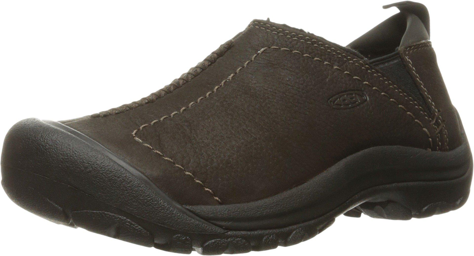 KEEN Women's Kaci Winter Waterproof Shoe, Peat, 7 M US