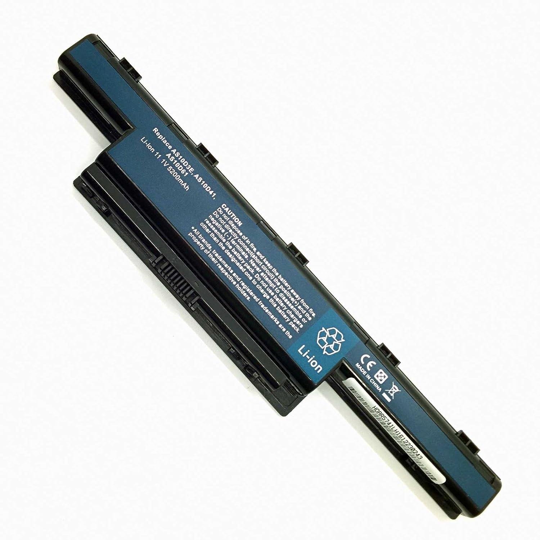 Batería Compatible para Portátiles Packard Bell Easynote p5ws0 Li-Ion 11,1v 5200mAh
