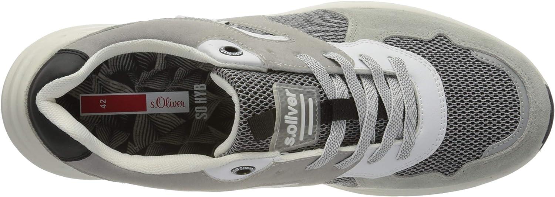 s.Oliver 5-5-13625-24 Sneakers voor heren grijs (grey combi 201)
