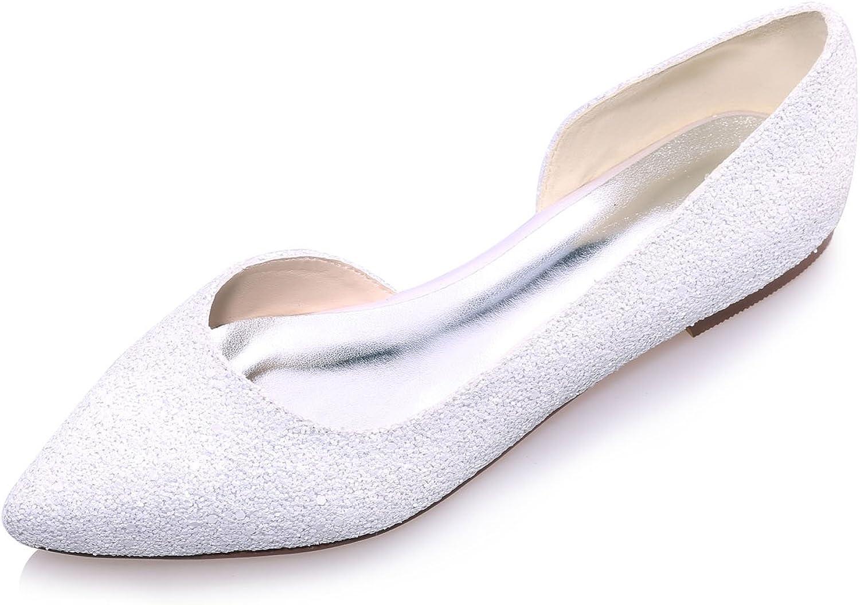 Women Flat Dress Shoes, Pointed Toe