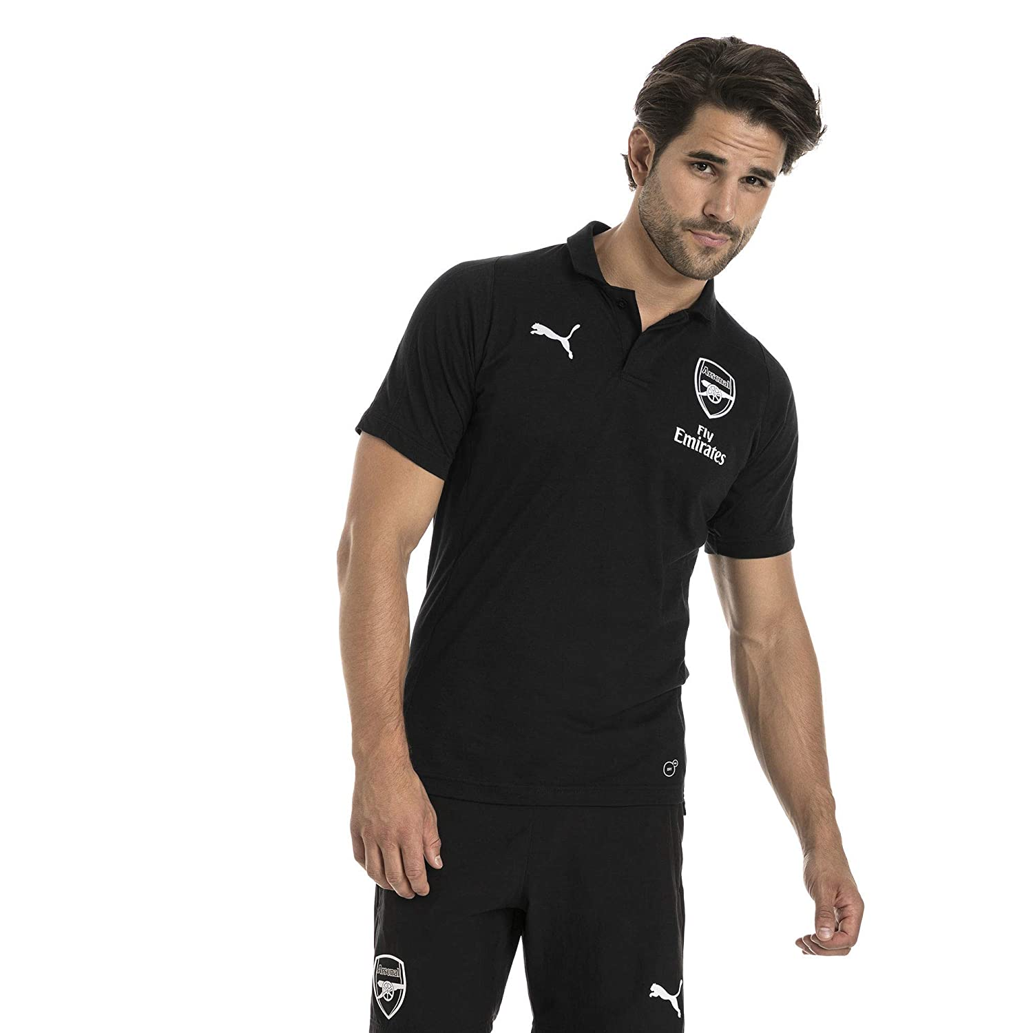 Puma 2018-2019 Arsenal Casual Performance Polo Shirt (Black ...