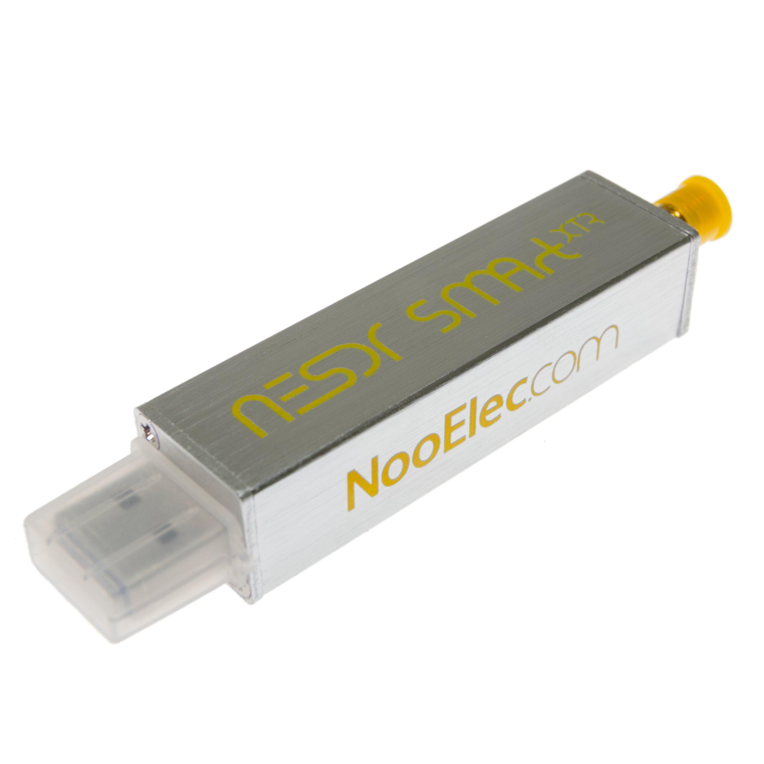 NooElec NESDR Smart XTR SDR - Premium RTL-SDR w/Extended Tuning Range, Aluminum Enclosure, 0.5PPM TCXO, SMA Input. RTL2832U & E4000-Based Software Defined Radio by NooElec