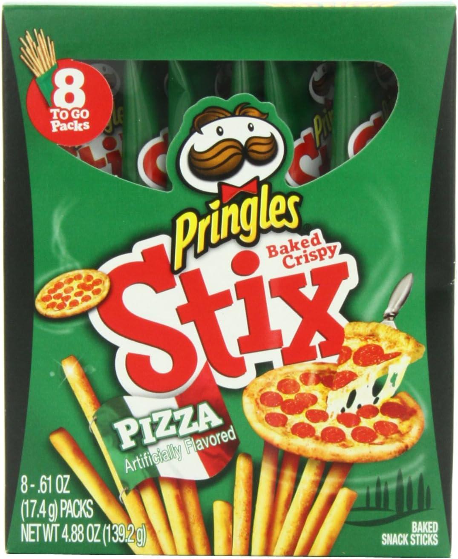 Pringles Pizza Stix, 4.88 Ounce: Amazon.es: Alimentación y bebidas
