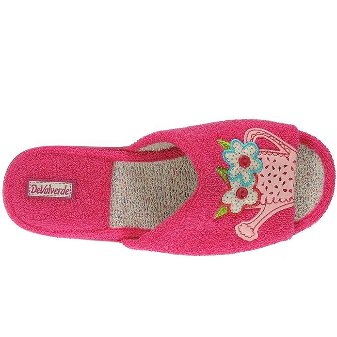 DeValverde. Zapatilla Pinki de Estar por Casa Motivo Regadera para Mujer - Modelo 176: Amazon.es: Zapatos y complementos