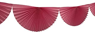 product image for 3-Pack 7 Foot Tissue Paper Bunting Garland Party Decoration (Dusty Rose)