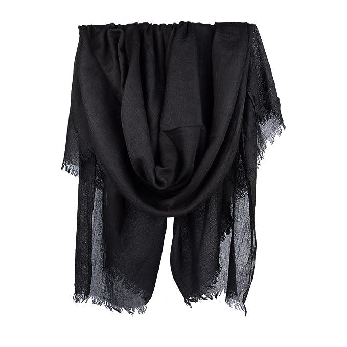 Amazon.com: Bufandas de verano para mujer, de lino, ligeras ...