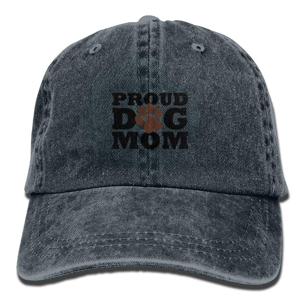 ae0e34188a4 Amazon.com  Jusxout Dog Mom Vintage Unisex Adjustable Baseball Cap Dad Hat   Clothing