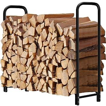 Amagabeli 4 Feet Firewood Rack