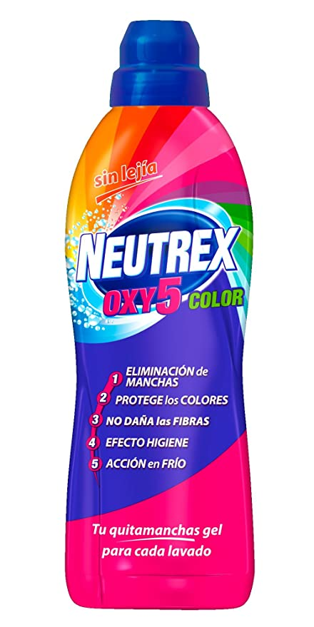 Neutrex Oxy 5 Color Aditivo Ropa - 0,8 l