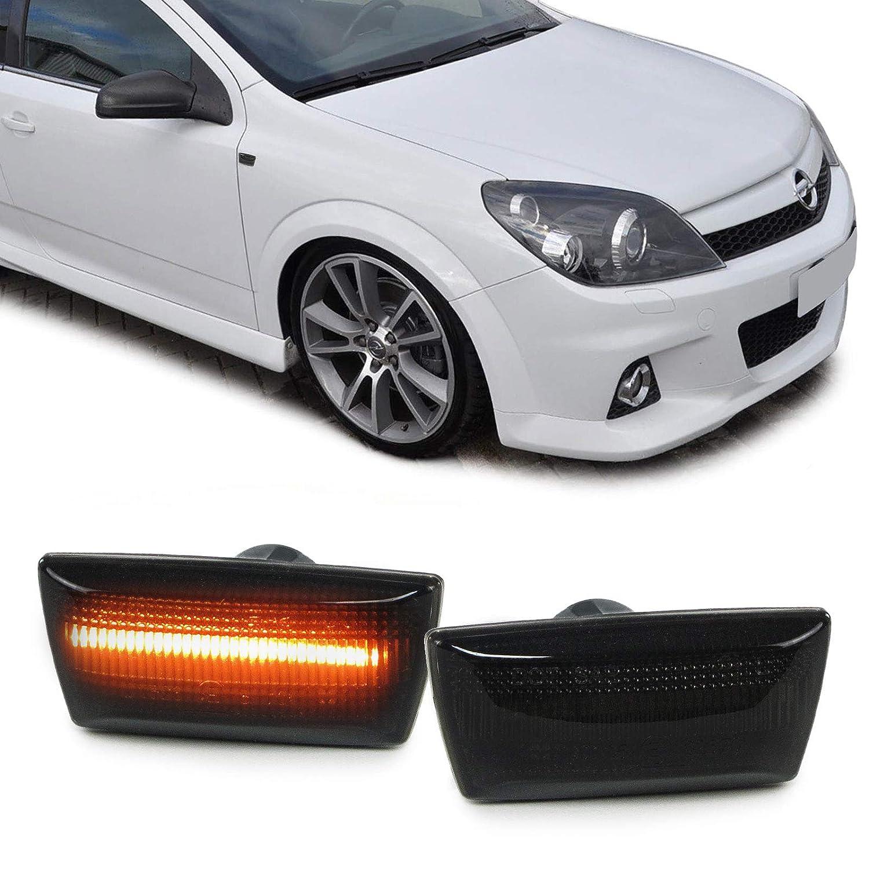 Tenzo-R 37602 Dynamische LED Seitenblinker schwarz Paar