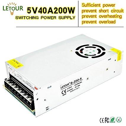Review LETOUR 5V Power Supply