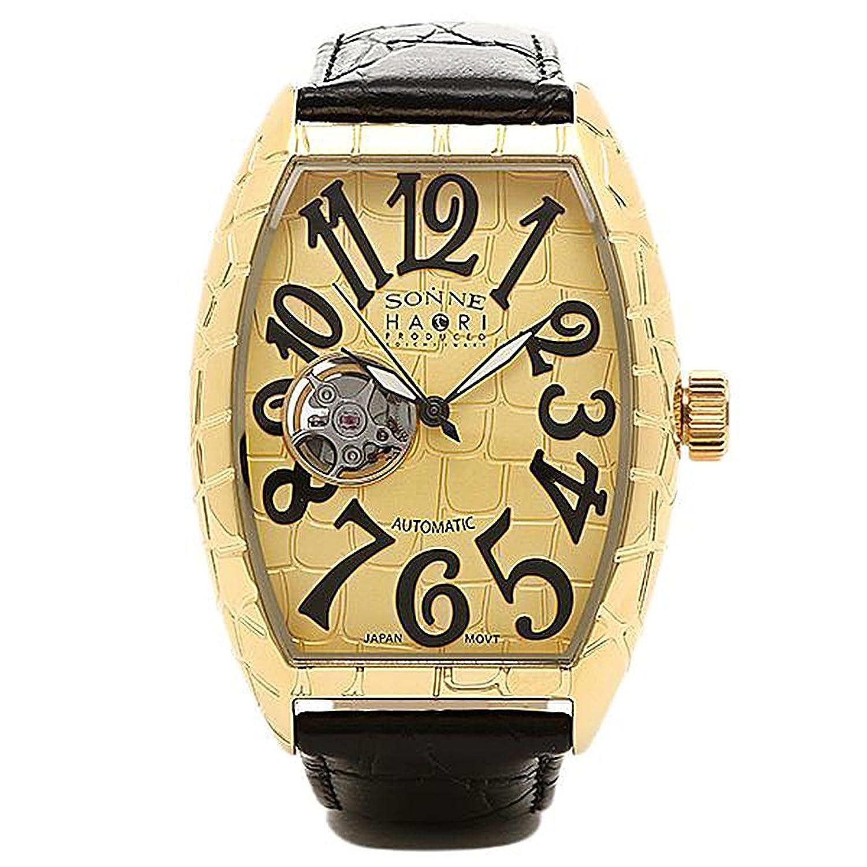 [ゾンネ] 腕時計 SONNE H005YG-JP イエローゴールド ブラック [並行輸入品] B018TLZS9O