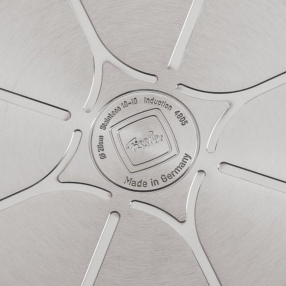 Fissler Original-Profi Collection Batería 4 Piezas, para Todo Tipo de cocinas, Acero Inoxidable 18/10, Plateado
