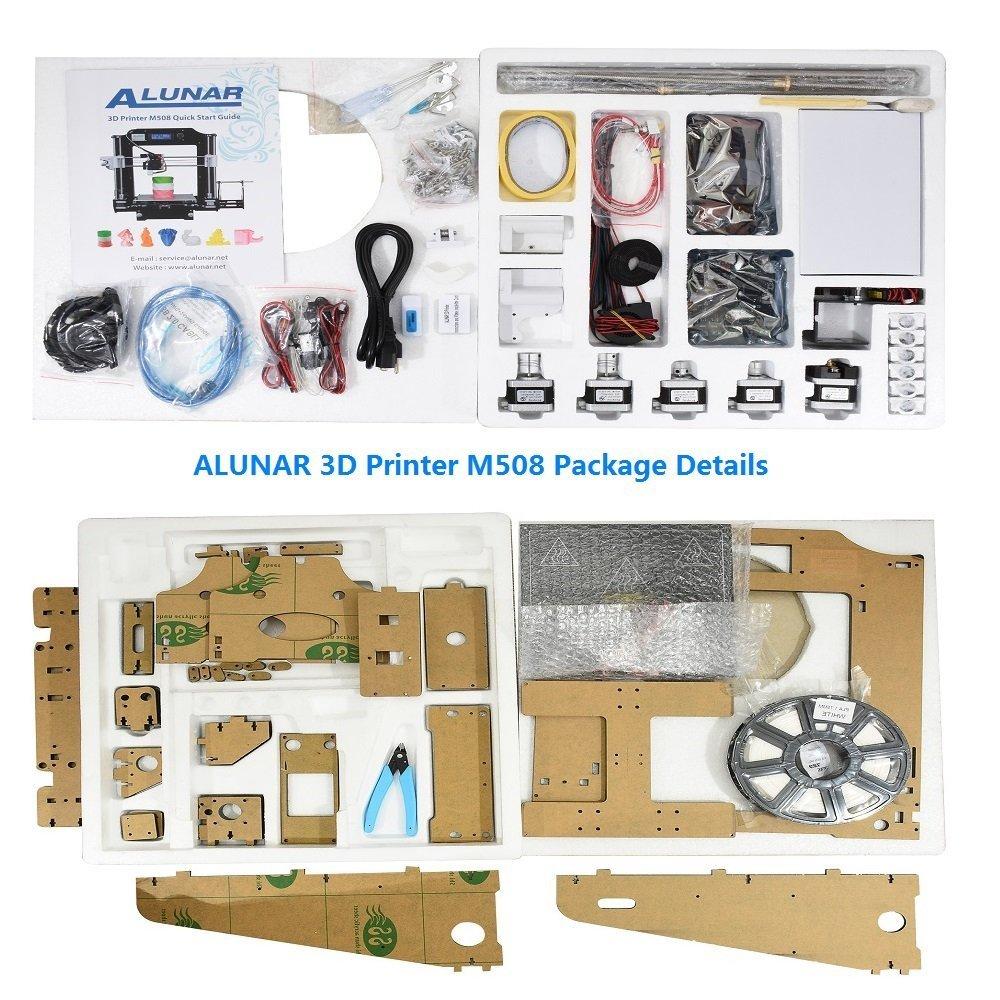 Alunar - Impresora 3D de escritorio equipada, kit para ensamblar ...