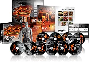 Shaun T Insanity 60 Days 30 Minutes 10 DVD Workout Exercise Videos Base Kit