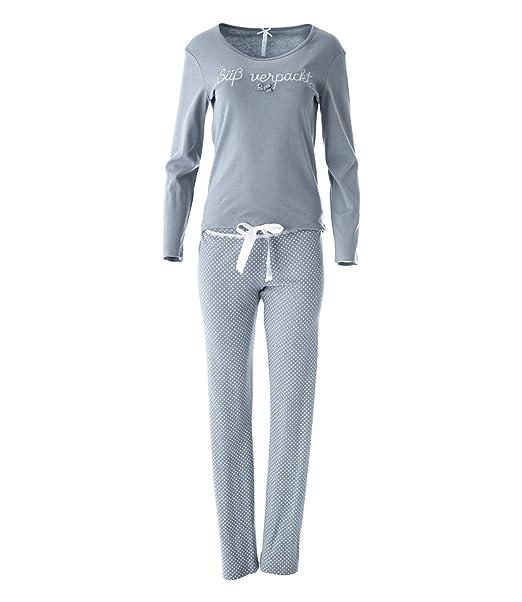 Louis & Louisa - Pijama - para Mujer Gris Gris