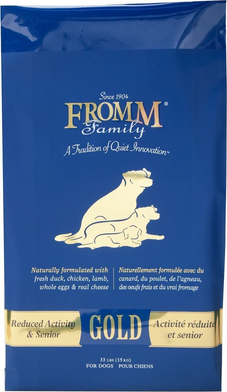 Fromm Family Foods 727540 33 Lb Gold Nutritionals Senior Dry Dog Food (1 Pack), One Size