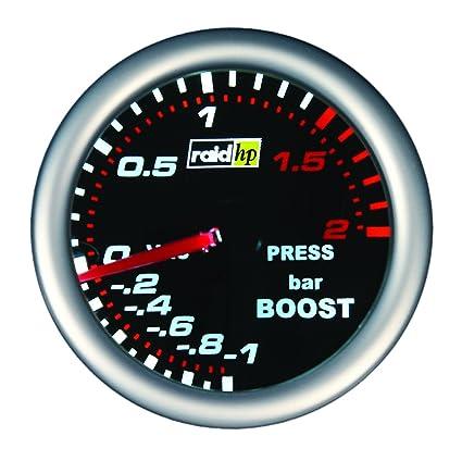 Raid hp 660243 Night Flight - Indicador de presión de admisión