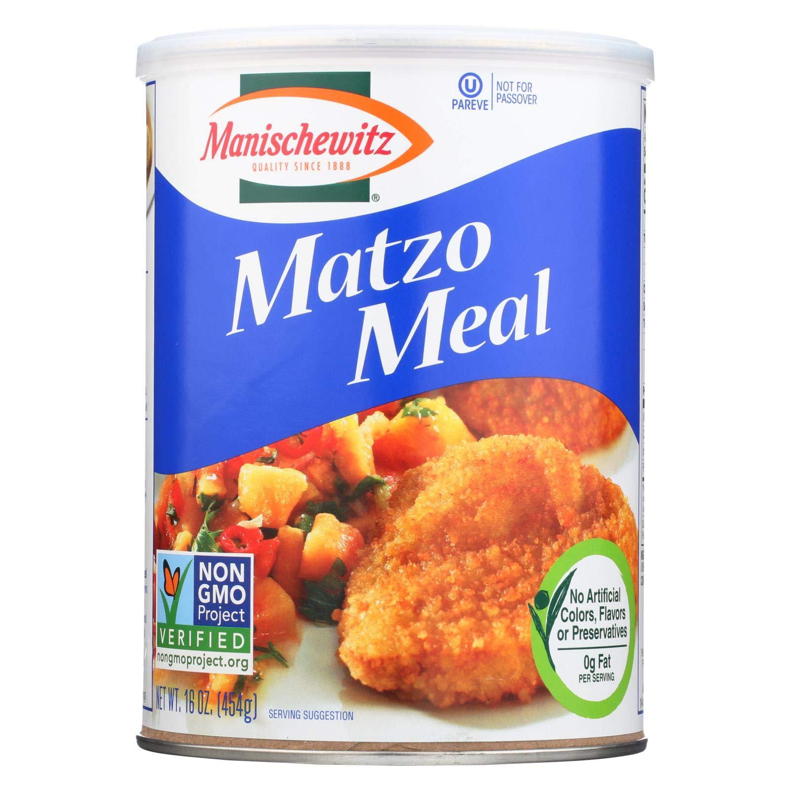 Manischewitz Matzo Meal Unsalted (12x16oz )