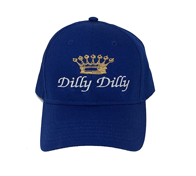 762c1596f4868 Amazon.com  Funny Beer Drinking Dilly Dilly Crown Adult Baseball Cap ...