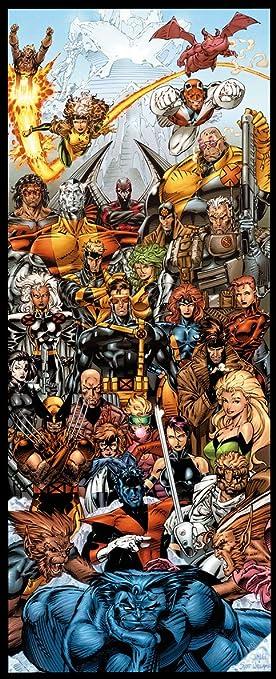 X-Men By Jim Lee Door Poster & Amazon.com: X-Men By Jim Lee Door Poster: Health u0026 Personal Care pezcame.com