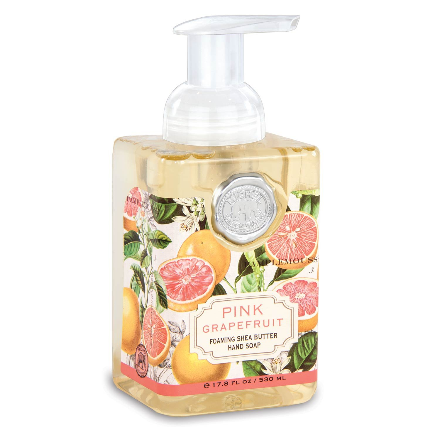 Michel Design Works Foaming Hand Soap, 17.8-Ounce, Pink Grapefruit