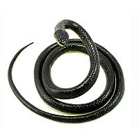 Realistic Rubber Snake Halloween Toy Mamba Fake Snake Toy Garden Props 52 inch Long Joke Prank Gift