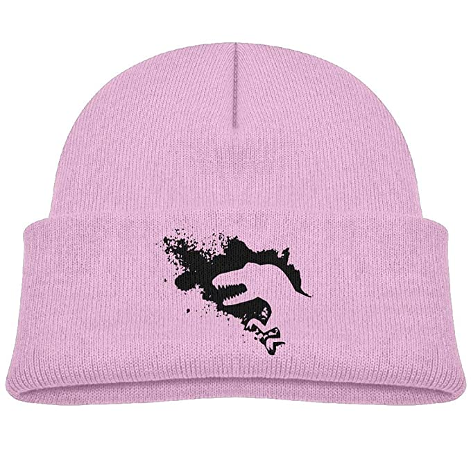 Amazon.com  Fzjy wnx Black Dinosaur Wool Beanie Hats Cool Boys  0-3 ... 5896a50cad9