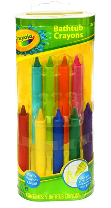 Play Visions Crayola Bathtub Crayons, 9 Count