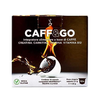 Potente Energetico Café Creatina Carnitina Taurina Vitamina B12 Sin Gluten Leche Azúcar Adelgazante Veganos