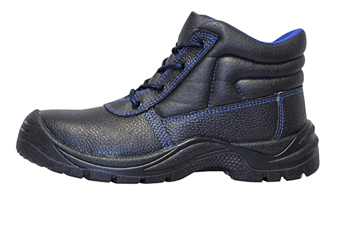 c2c3b11e KERMEN - Zapatos de trabajo S3 SRC para hombre Calzado de seguridad negro 36