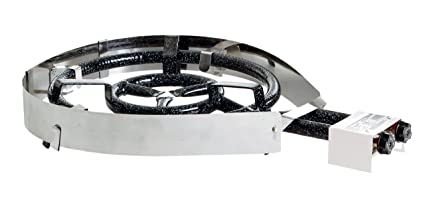 50 mbar 13,9 kW Ø 40 cm 2-Ring-Gasbrenner