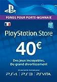 Carte Playstation Network 40 EUR | Code Jeu PSN - Compte français