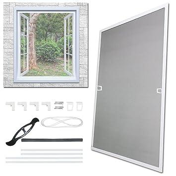 Fliegengitter Fenster Tür Insektenschutz Alurahmen Mückengitter Gaze Mücken