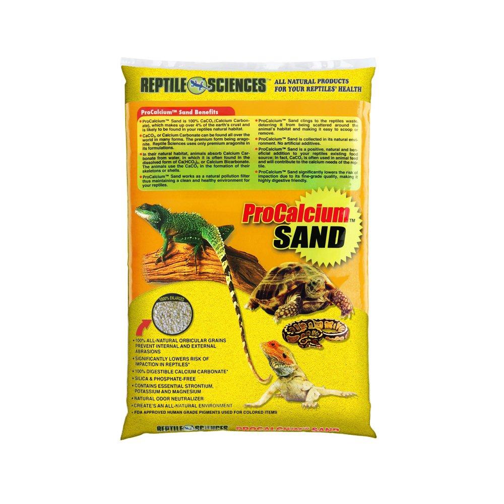 Reptile Sciences Terrarium Sand, 10-Pound, Bright Yellow