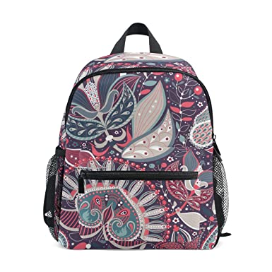 e761437ffe Image Unavailable. Image not available for. Color  Age 3-8 Bohemian Hippie  Print Toddler Preschool Backpack